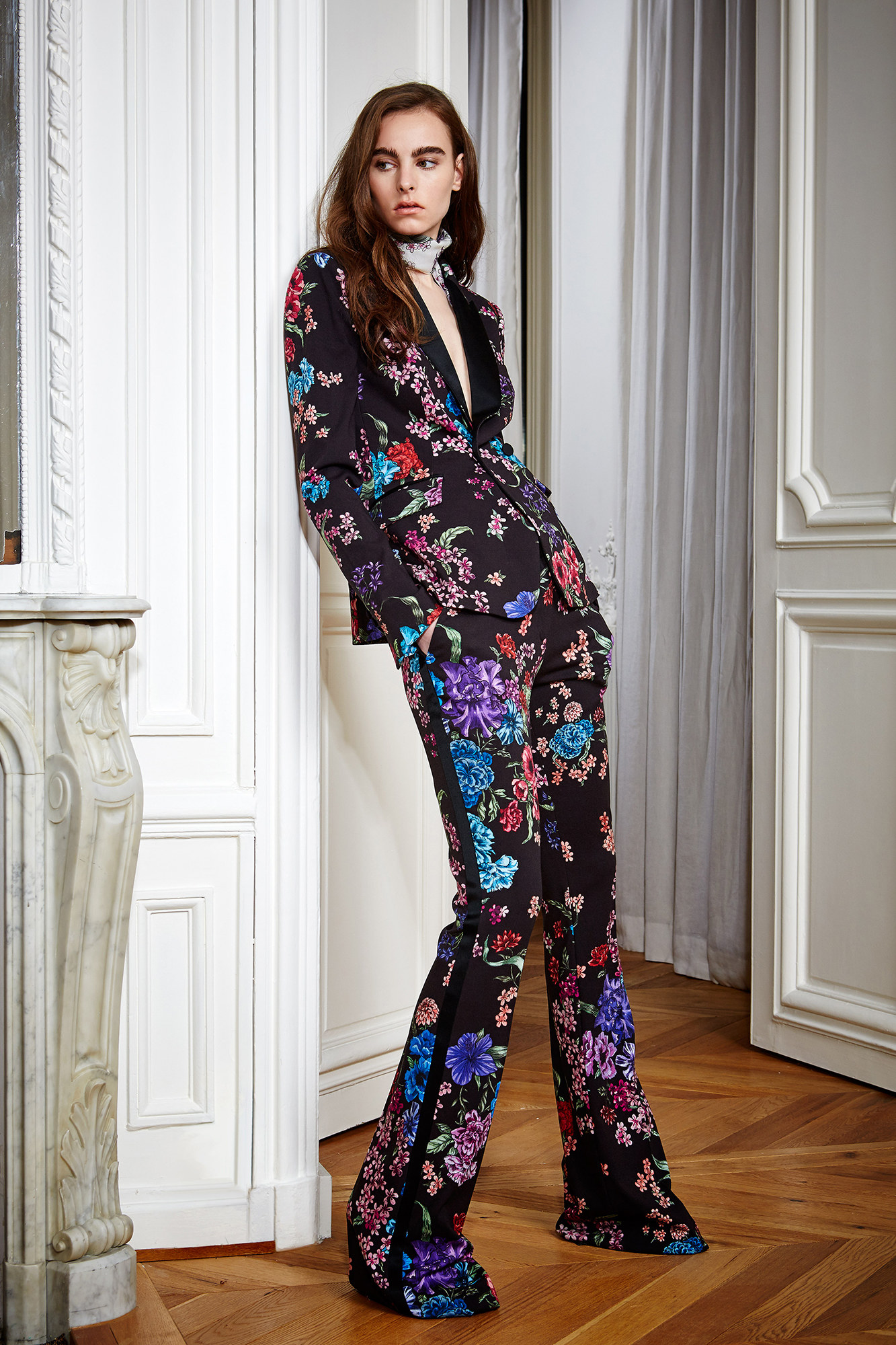 8cb8ba2edaa ZUHAIR MURAD PRE FALL 2016  I m always on the outlook for a zesty and  singular pant suit